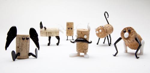 Rafa-kids : DIY Cork Stopper Animals By Reddish Studio