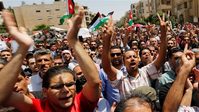 Angry Jordanians urge cancellation of 'shameful' peace treaty with Israel