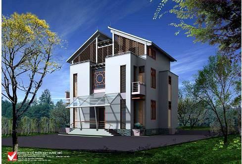 Biệt thự sinh thái xây dưng bằng công nghệ Panel 3D beton