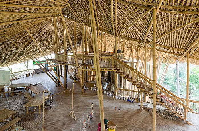 Uca Firstyear The Green School By Ibuku Pt Bambu