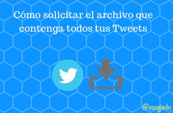 Twitter, Redes sociales, social media, archivo, descargar, tweets,