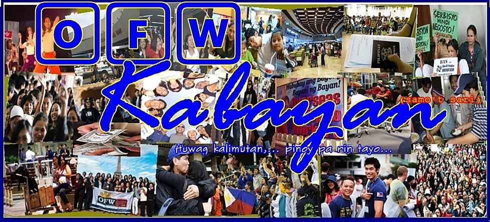 OFW Kabayan - guides and information (samo't sari)
