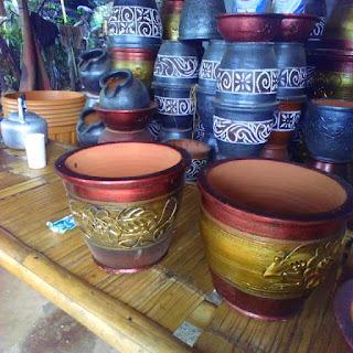 Jual Pot Gerabah Motif | Pot Keramik | Pot Minimalis | Aneka Macam Pot Tanaman