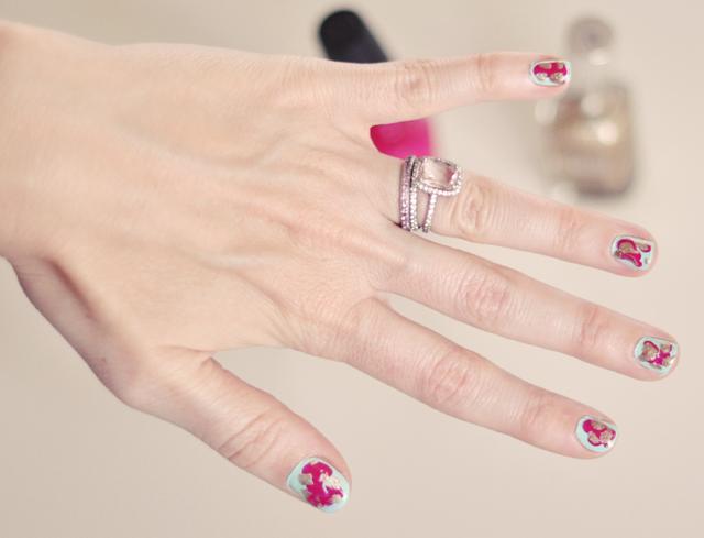 Abstract Art Manicure Nail Art Diy Love Maegan