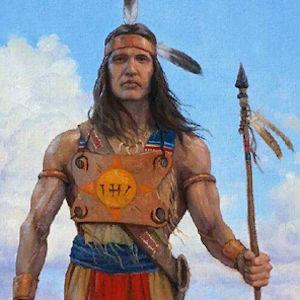 Detail from Zelph a Man of God by Ken Corbett