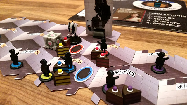 portal boardgame review aperture science