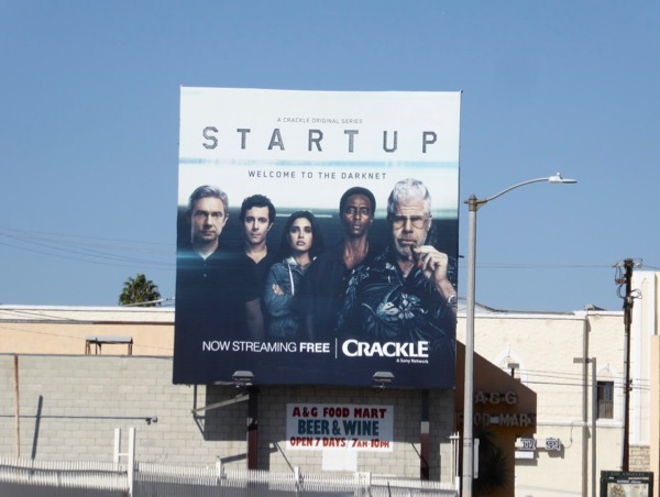 Daily Billboard: StartUp season two TV billboards    Advertising for