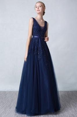 robe-bustier-col-v-chic robe bustier dans Robe du soir