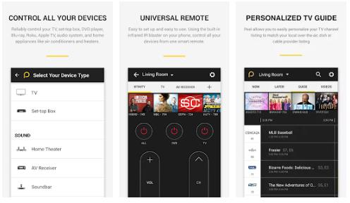 Aplikasi Remote TV Android