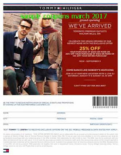 free Tommy Hilfiger coupons for march 2017