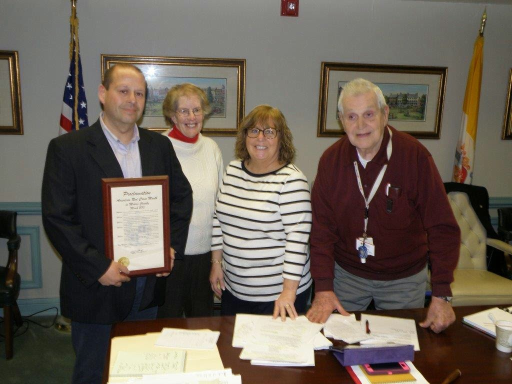 Freeholders Declare March American Red Cross Month