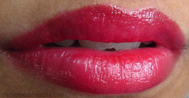 NYX Butter Gloss red velvet review, NYX Butter Gloss review