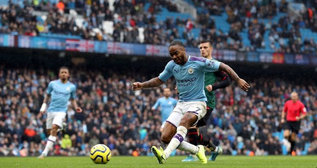 Raheem Sterling Shine as Man City keep up the pace after 3-0 win to Aston Villa
