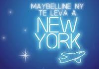 Promoção Maybelline NY te leva a New York televaany.com.br