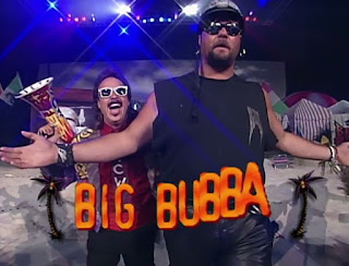 WCW REVIEW - BASH AT THE BEACH 1996 - Big Bubba (w/ Jimmy Hart) faced John Tenta in a Carson City Silver Dollar Match