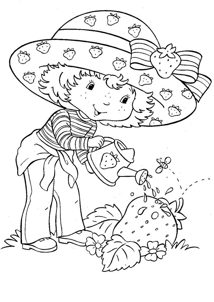 Dibujos Para Colorear De La Rosita Fresita Imagui