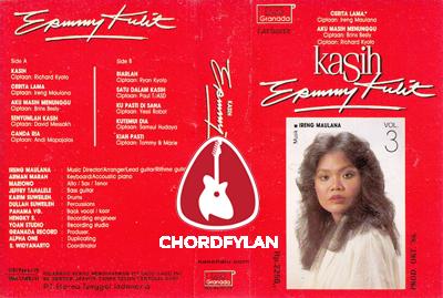 Lirik dan Chord Kunci Gitar Kasih - Ermy Kullit
