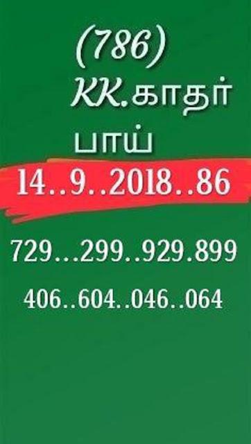 kerala lottery abc guessing nirmal nr-86 on 14.09.2018 by KK