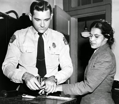 Rosa Parks Booking Photo, Montgomery Bus Boycott