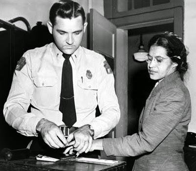 Rosa Parks Booking Photo, Montgomery Bus Boycott