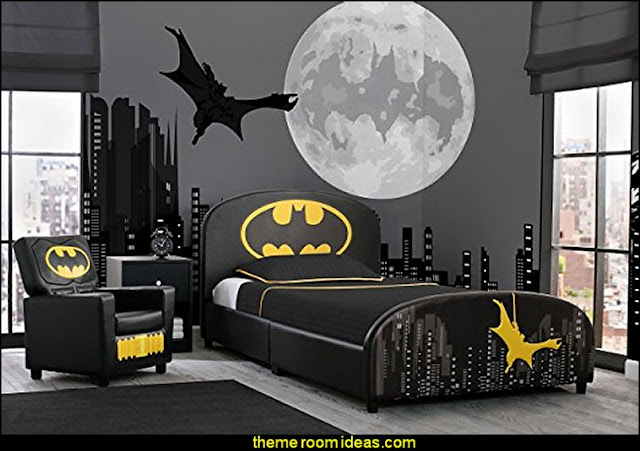 batman  bed  DC Comics Batman  batman bedrooms - batman furniture -  batman bedroom decorating ideas - batman murals - batman wall decals - batman bedding - batmobile bed - batman pajamas -  DC Comics Batman -  batman comics themed bedrooms -