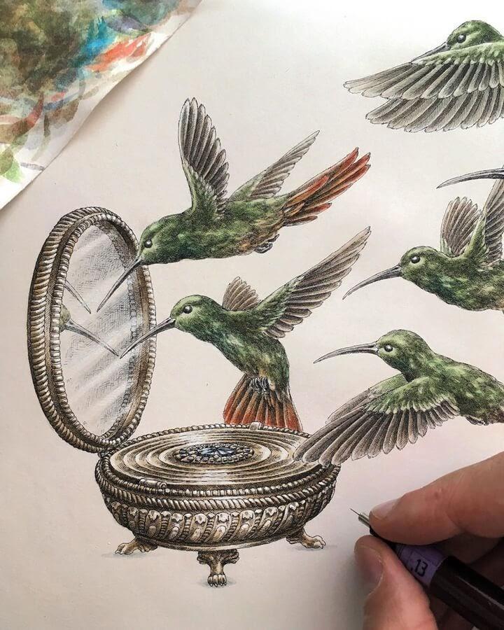 02-Hummingbirds-compact-mirror-Steeven-Salvat-www-designstack-co