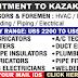 GULF JOBS - RECRUITMENT TO KAZAKHSTAN