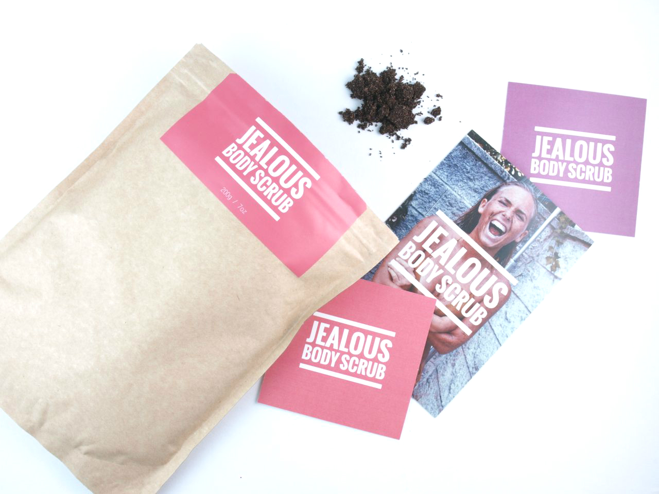 Jealous Body Scrub New Almond + Coffee Scrub: Review