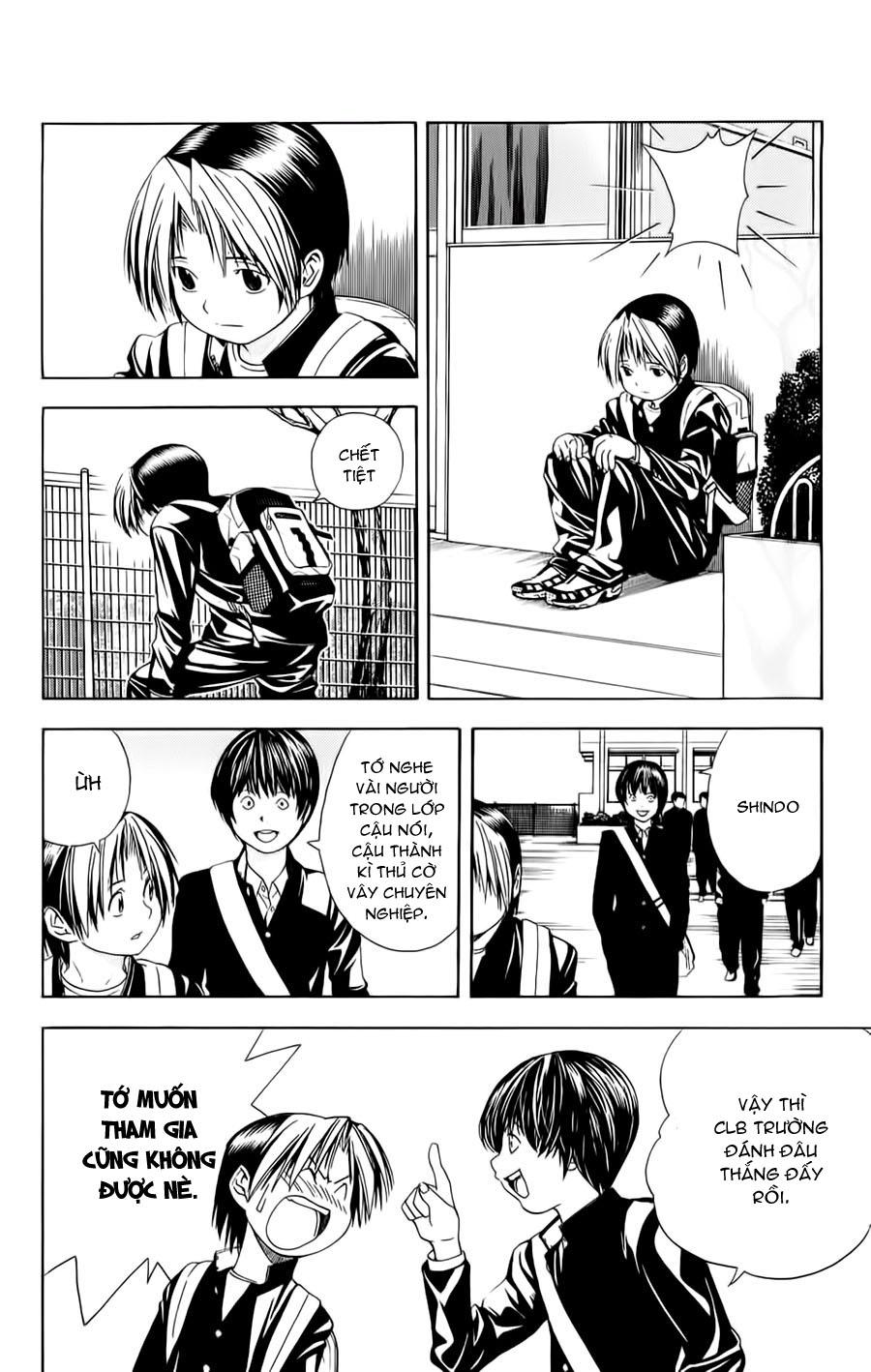 Hikaru No Go hikaru no go chap 96 trang 22
