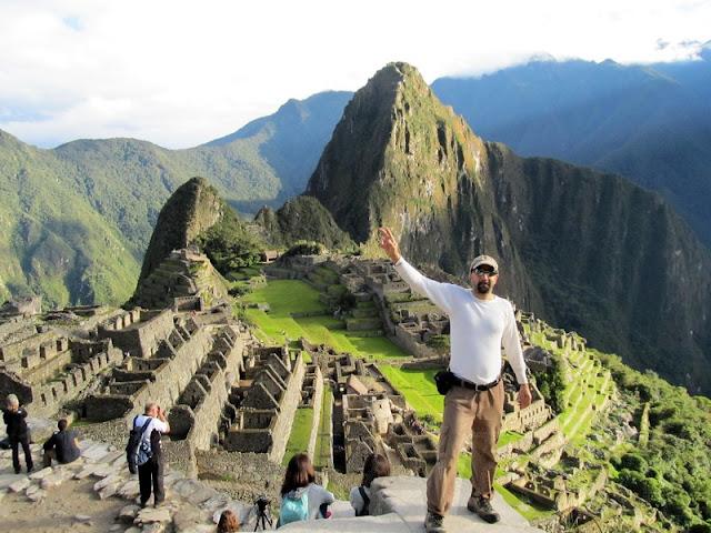 arvinder in Machu Picchu