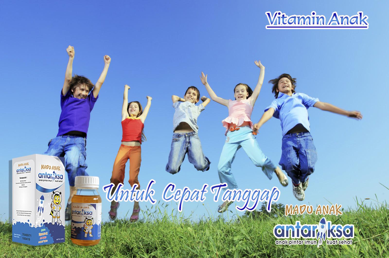Vitamin Anak Untuk Cepat Tanggap