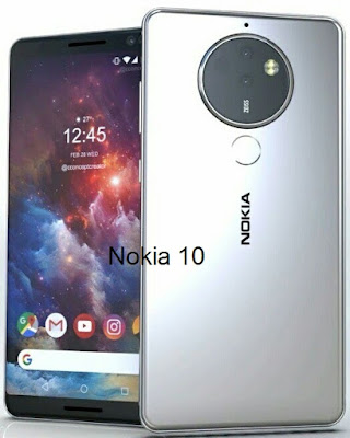 Nokia 10 – 6.0 Inches Super AMOLED Display | Qualcomm Snapdragon 835 MSM8998 | Dual 16 MP + 8 MP Rear Camera