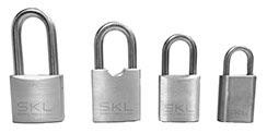 Diferentes candados para el sistema IS de SKL control de accesos