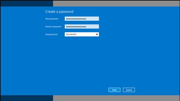 Cara Buat Password Windows 8.1