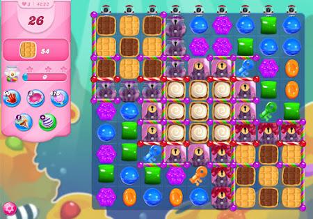 Candy Crush Saga level 4222