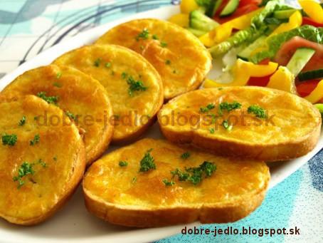 Anglické chlebíčky - recepty