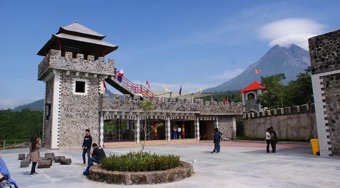 benteng takeshi castel di Jogja japan