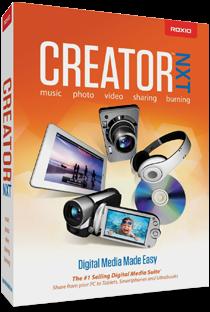 Roxio Creator Editing Software