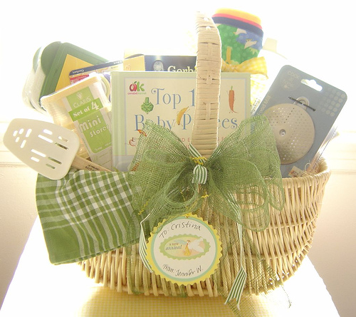 The gallery for --> Homemade Baby Shower Gift Baskets