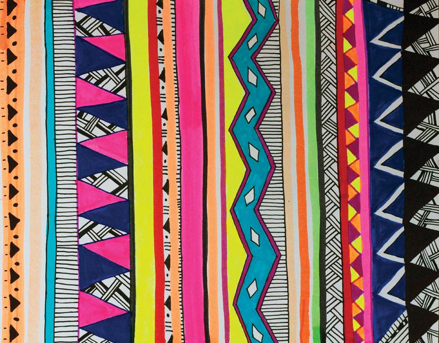 April's Land: Tribal Pattern