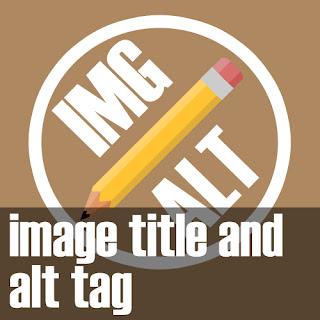 title dan alt tag pada gambar
