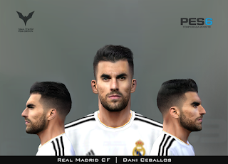 PES 6 Faces Dani Ceballos by Adam & The Kid Facemaker