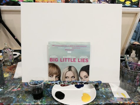 The Mommy Factor Sip and Paint for HBO Big Little Lies digital release