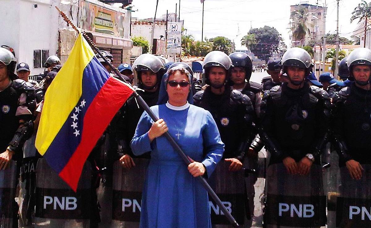 Resultado de imagen para protesta de cristianos en venezuela