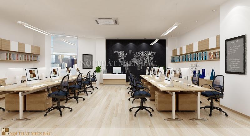 Thiết kế văn phòng làm việc linh hoạt