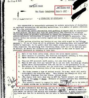 Informe FBI enumera 9 caracteristicas de los seres extraterrestres y ovnis