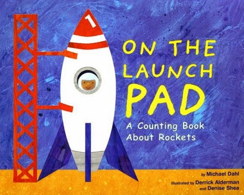 On The Launch Pad, part of children's book review list about outer space