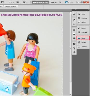 paleta capas photoshop
