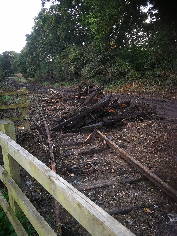Excavation of the last of the Gosport Line