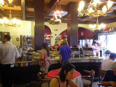 sala colazioni hotel Gloria a Blumenau